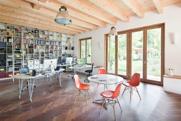 Домик для дизайнеров в Германии