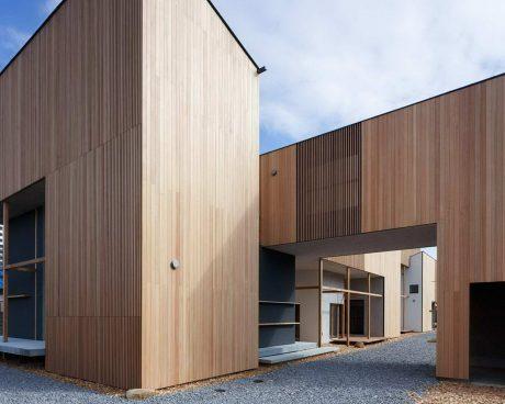 Дом-деревня в Японии