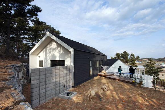 Загородный дом с пансионом в Южной Корее