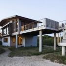 Дом на зыбучих песках (House of Shifting Sands) в США от Ruhl Walker Architects.