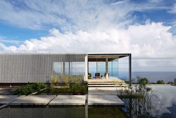 Дом с видом на океан на Гавайах