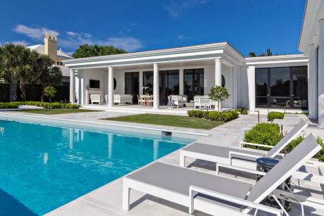 Обновление дома (Makeover in Palm Beach) в США от Keating Moore.