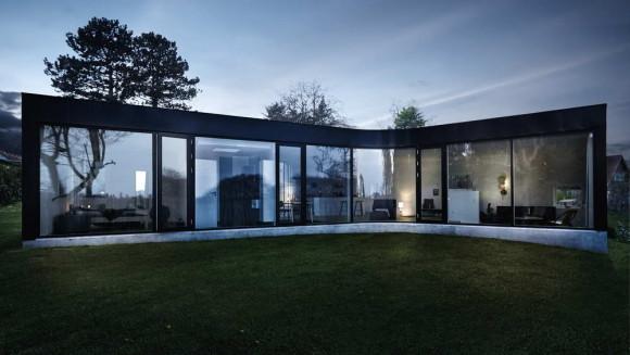 Дом с тремя фасадами в Дании