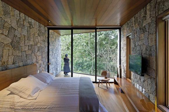 Домик для писателя (Writer's Retreat) в Бразилии от Architectare.