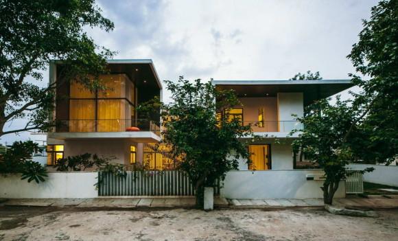 Модернистский дом в Индии