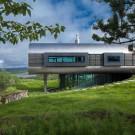 Фигурный дом (House of Shapes) в Исландии от EON architecture.