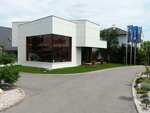 Быстровозводимый дом в Австрии