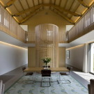 Длинный дом (The Long House) в Англии от Hopkins Architects.