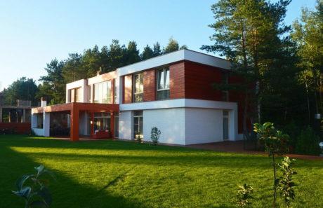 Дом в Химках (Ximki-house) в России от Sboev3 Architect.