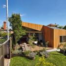 Диагональный дом (Diagonal House) в Австралии от Simon Whibley Architecture & Antarctica.