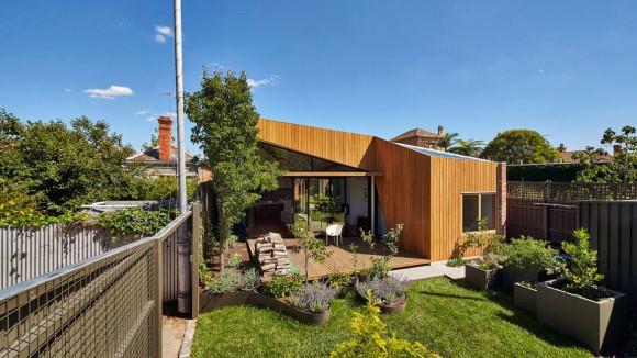 Расширение дома в Австралии