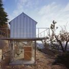 Дом в Рокко (House in Rokko) в Японии от Tato Architects.