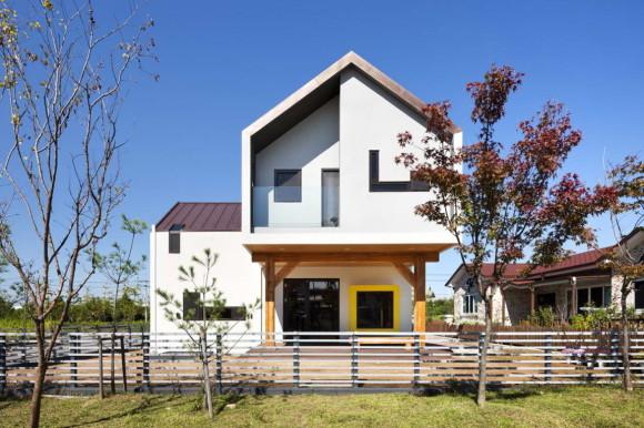 Загородный дом в Корее