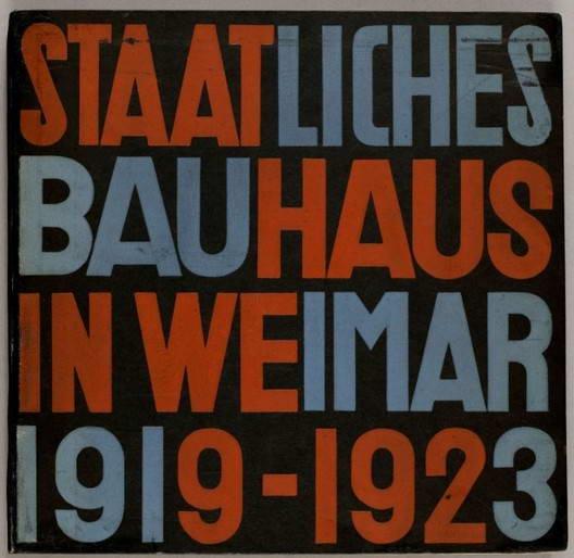 Staatliches Bauhaus Weimar, 1919-1923