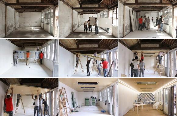 Модульная система обновления домов в Китае