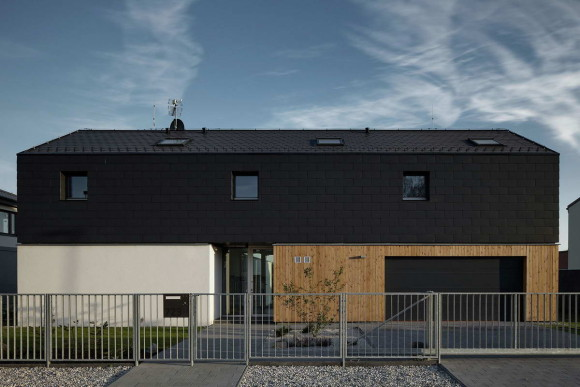 Семейный дом в Нучице (Family House in Nucice) в Чехии от Mimosa architects.