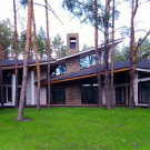 Дом в сосновом бору (House in a pine forest) на Донбассе от Михаила Булкина и Максима Лукьянова.