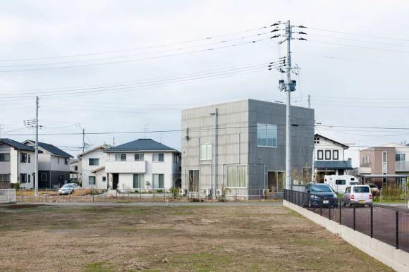 Дом-куб в Японии