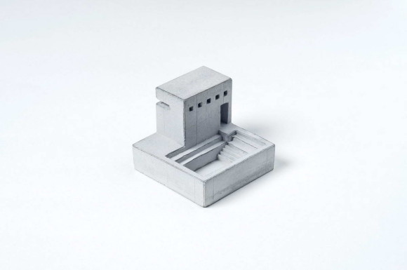 Miniature Concrete Village 5