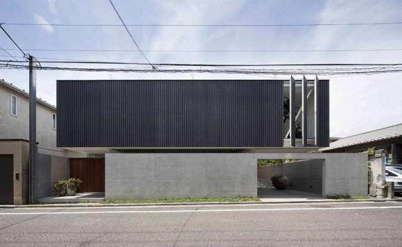 Интровертный дом в Японии