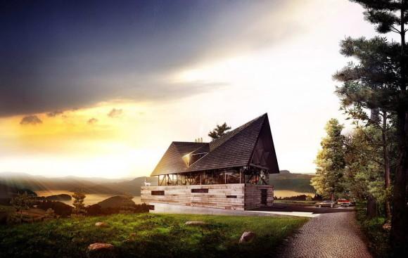 Проект современной усадьбы в Польше