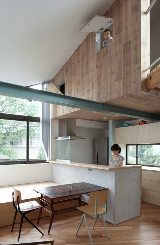 Small House with Floating Treehouse 11