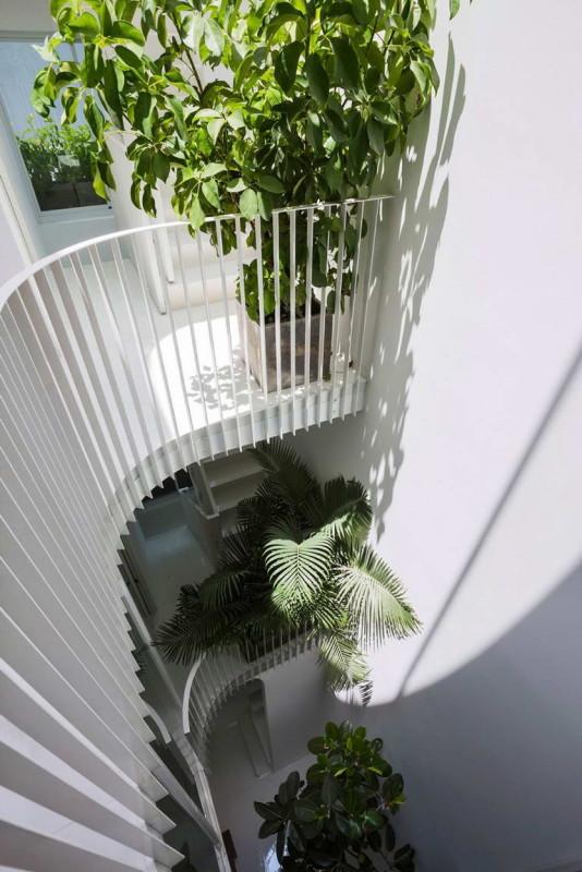 Вертикальный дом (Vertical Home) во Вьетнаме от KIENTRUC O.
