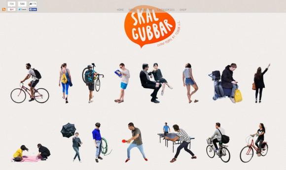 Сайты с графическими изображениями людей