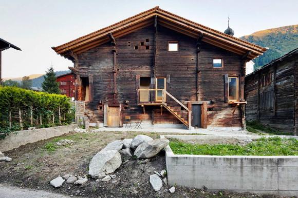Новый дом в старом сарае