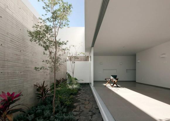 Дом с видом на небо (Casa para ver al cielo) в Мексике от Abraham Cota Paredes Arquitectos.