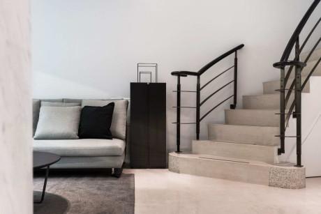 Современный минималистский интерьер квартиры на Тайване