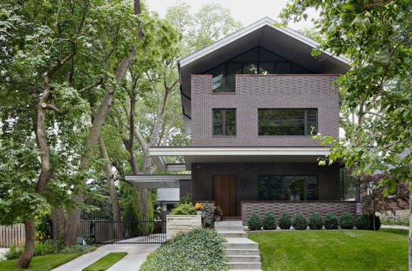 Демонстрационный дом (Showhouse) в США от Hufft Projects.