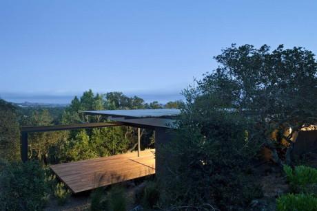 Домик для медитации (Sonoma Retreat) в США от Aidlin Darling Design.