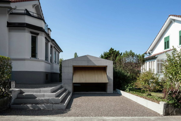 Пристройка к дому в Швейцарии