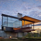 Резиденция в Беркшире (Berkshire Residence) в США от Olson Kundig Architects.
