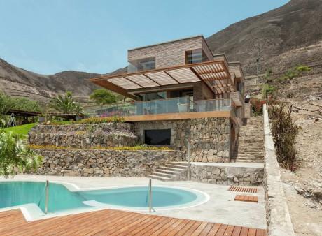 Дом на склоне в Перу