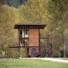 Приют Дельта (Delta Shelter) в США от Olson Kundig Architects.