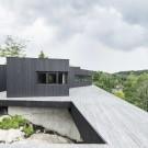 Дом La Heronniere в Канаде от Alain Carle Architecte.