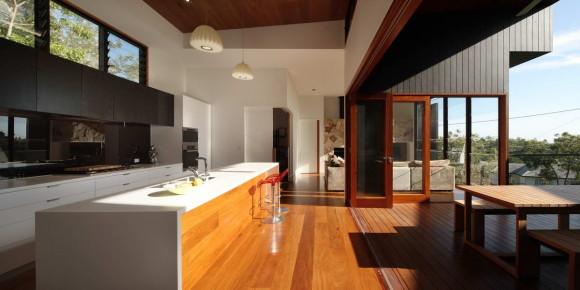 Дом на склоне в Австралии