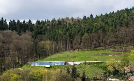 Минималистский дом в Германии