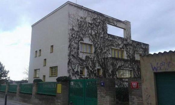 Мюллерова вилла в Чехии от Адольфа Лооса (Adolf Loos).