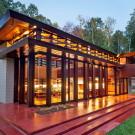 Дом Бахман-Вилсон (Bachman-Wilson House) в США от Фрэнка Ллойда Райта (Frank Lloyd Wright).
