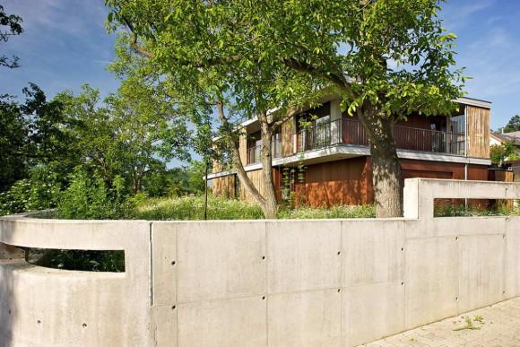 Бамбуковый дом (Bamboo House) в Чехии от Atelier Stepan.