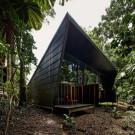 Дом на мысе Скорби (Cape Tribulation House) в Австралии от M3 architecture.