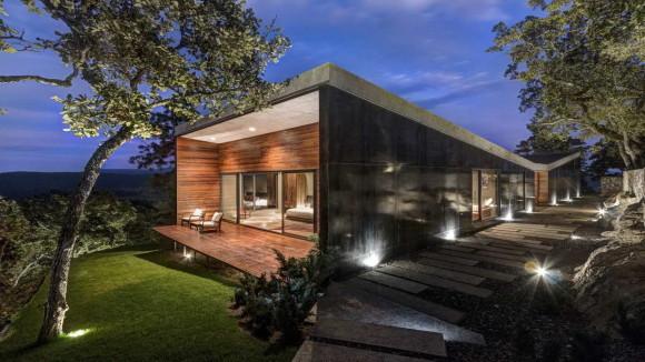 Дом в горах в Мексике