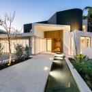 Резиденция Далкит (Dalkeith Residence) в Австралии от Hillam Architects.