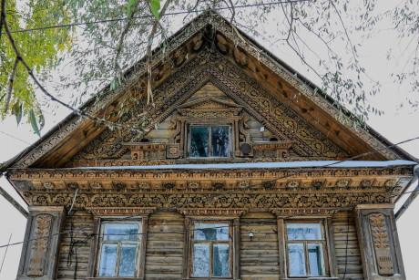 Дом Дубовкина в деревне Кузнечиха Нижегородской области.