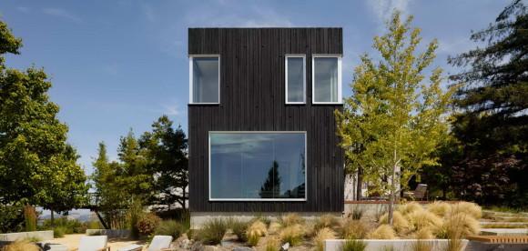 Дом Шоу Суджи Бан (Shou Sugi Ban House) в США от Schwartz and Architecture.