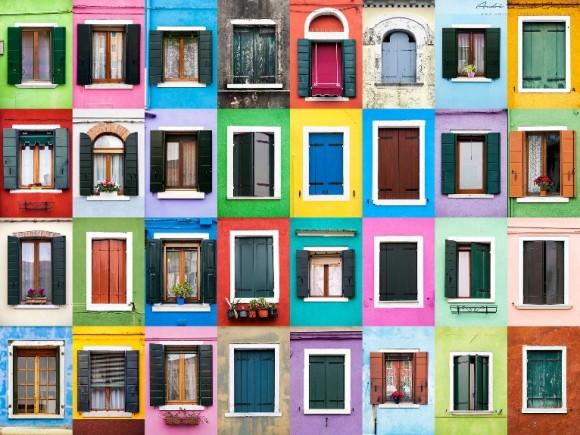 Windows of the World - Burano, Italy