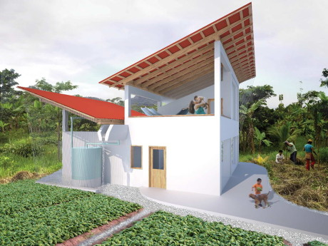 Дом для добровольцев в Перу